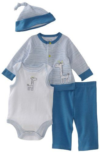 242c8c6444c Offspring - Baby Boys Giraffe 4 Piece Take Me Home Set  Amazon.com  Clothing