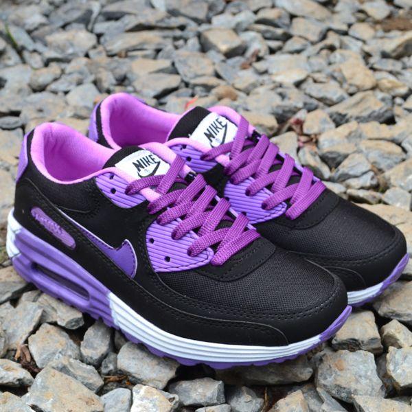 Nike Air Max Siyah Mor Bayan Ayakkabi Spor En Uygun Fiyata Nike Air Max Siyah Mor Modelleri Siyah Nike Kadin Nike