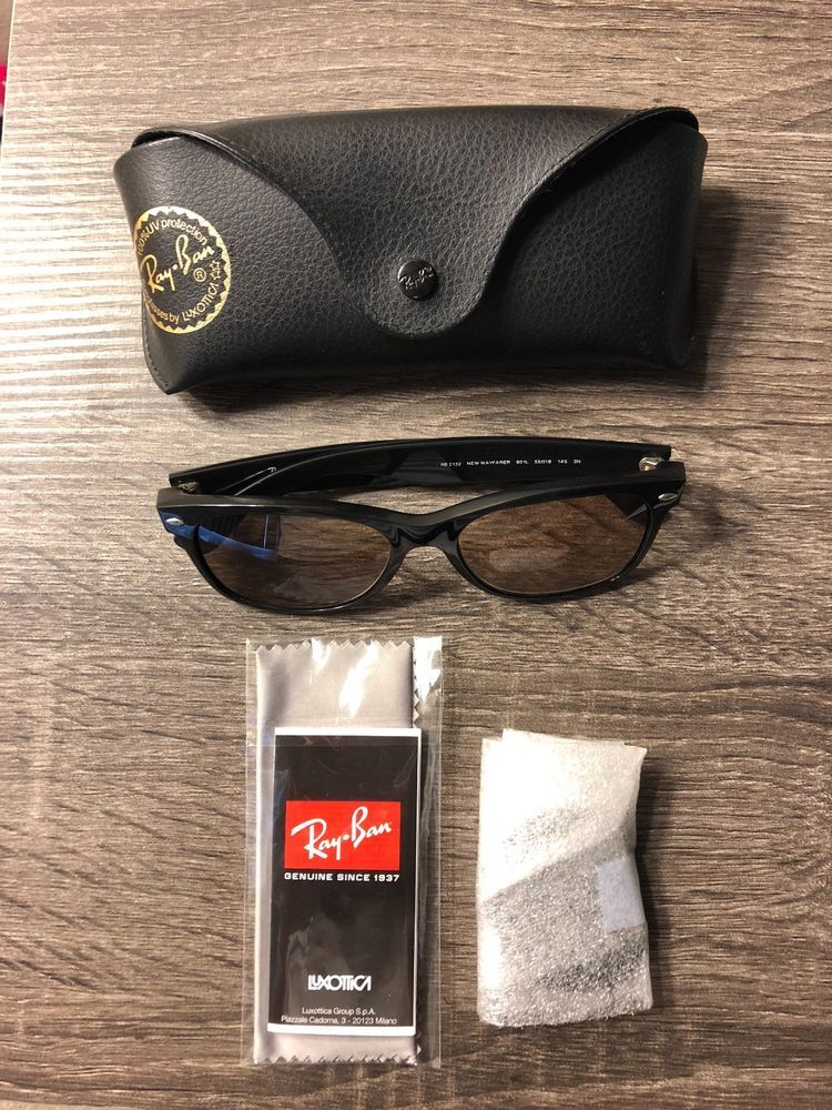 a8fec3ff7 Ray-Ban RB2132 Wayfarer Unisex Sunglasses with Black Frame and Green...  #fashion #clothing #shoes #accessories #unisexclothingshoesaccs  #unisexaccessories ...