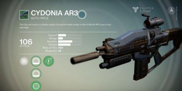 Bungie nerfs Destiny Auto Rifles, Vex Mythoclast, Rocket