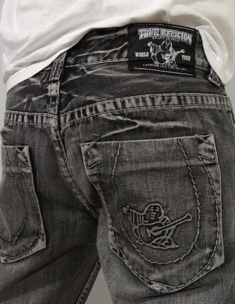 True Religion Regular Low Boot Cut 33 34 Jeans for Men | eBay