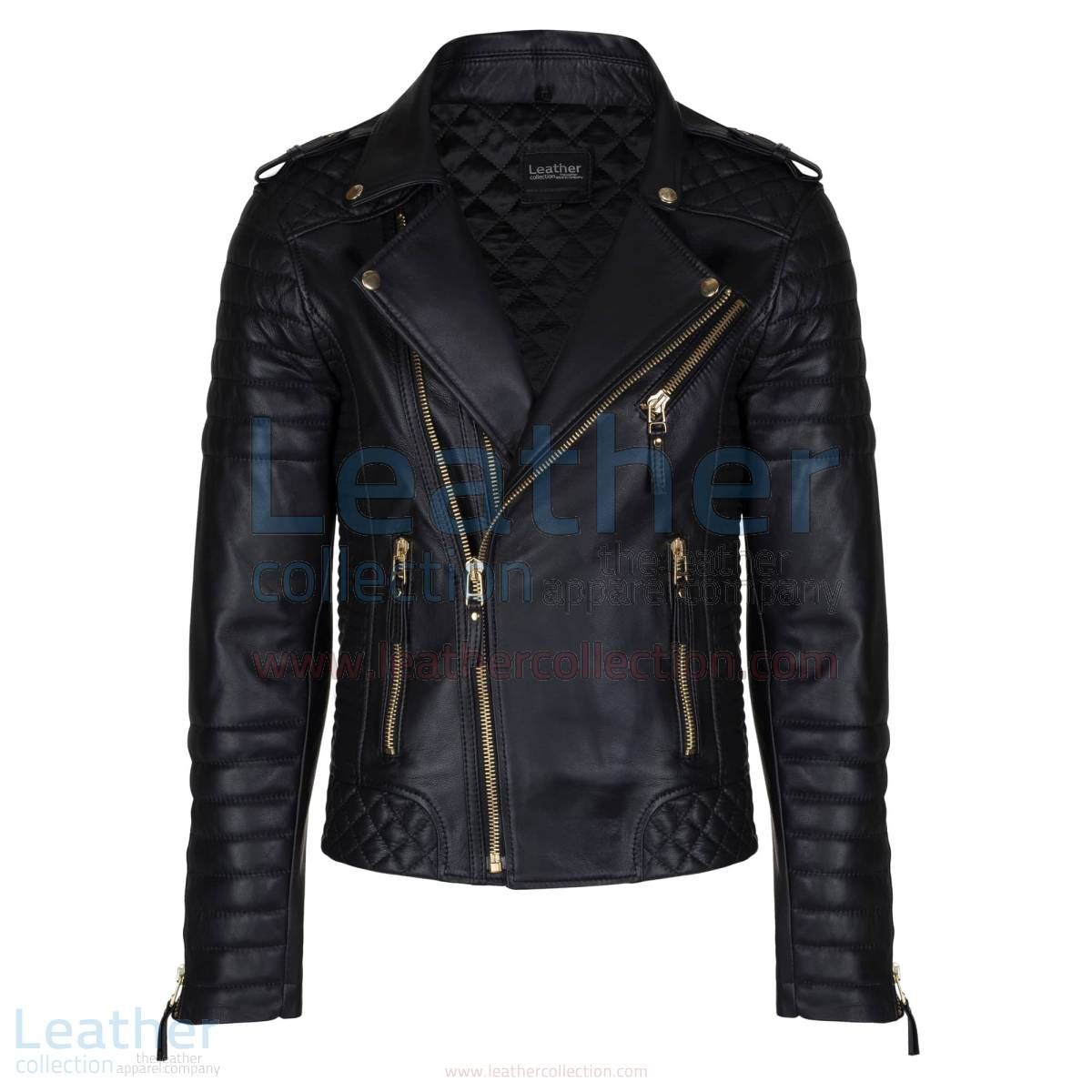 Pin On Quilted Leather Jacket Mens [ 1200 x 1200 Pixel ]