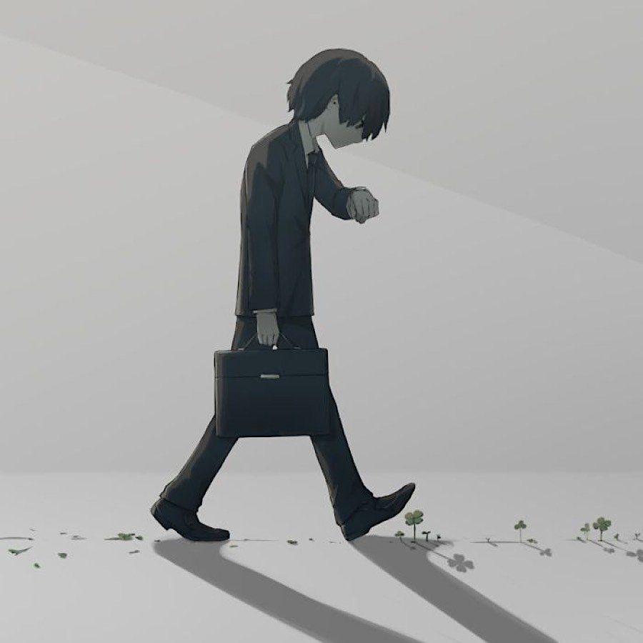Japanischer Künstler gibt finstere Einblicke in das Seelenleben der Welt - KlonBlog