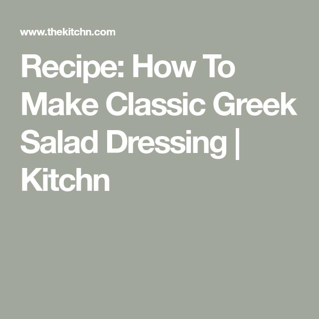 how to make pink greek dressing