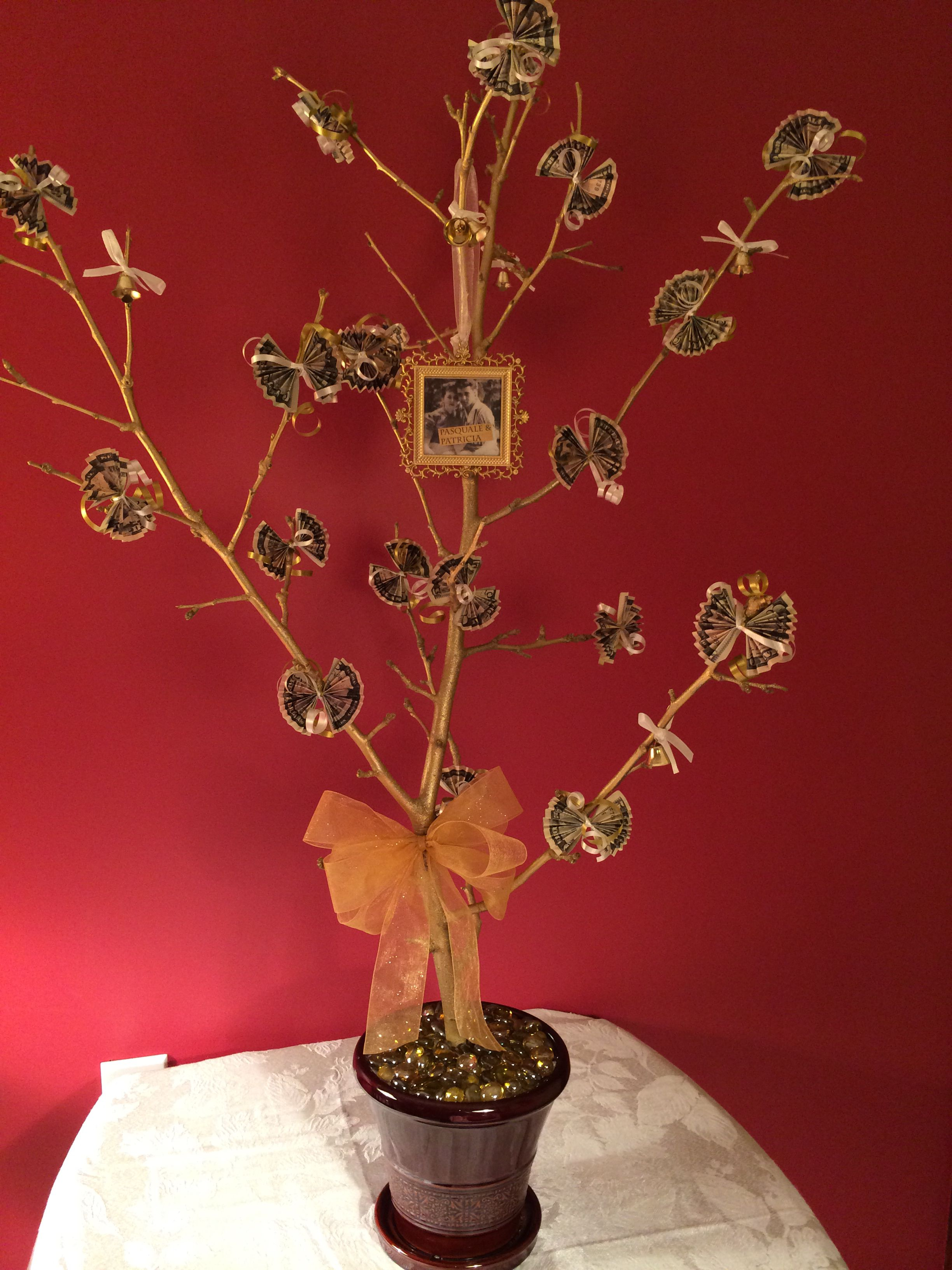Money Tree For 50th Wedding Anniversary Gift 50 Wedding Anniversary Gifts 50th Wedding Anniversary 50th Wedding