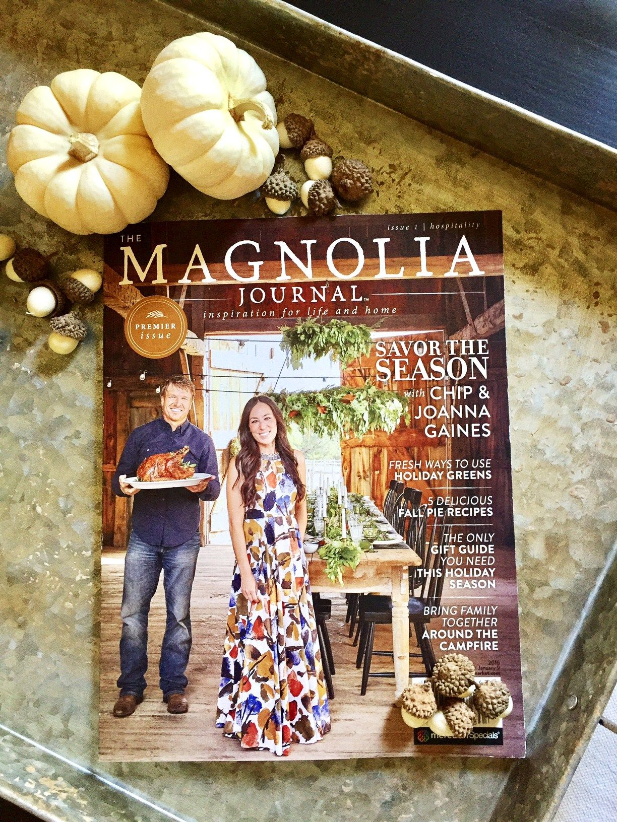 The Magnolia Journal and a Giveaway Magnolia journal