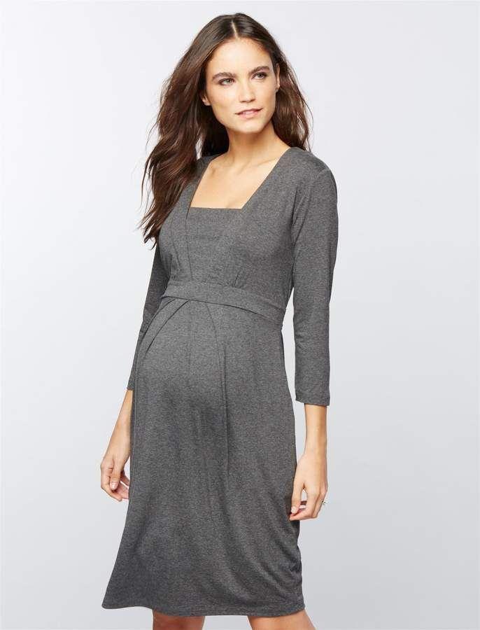 033be71efb1 Vestido De Indiferencia · Isabella Oliver Roseberry Maternity Dress. #ad Moda  Premama, Embarazo Con Estilo, Vestidos