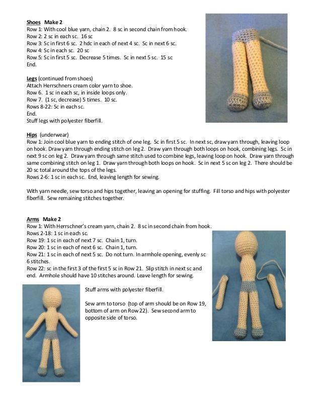 Frozen. Elsa crocheted doll pattern | Crochet | Pinterest | Patrones ...