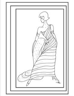 fashion coloring pages Return