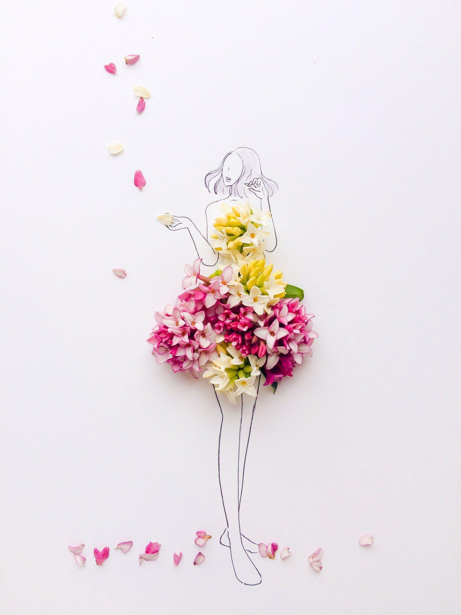 Twitter Beautiful Flowers Wallpapers Flower Petal Art