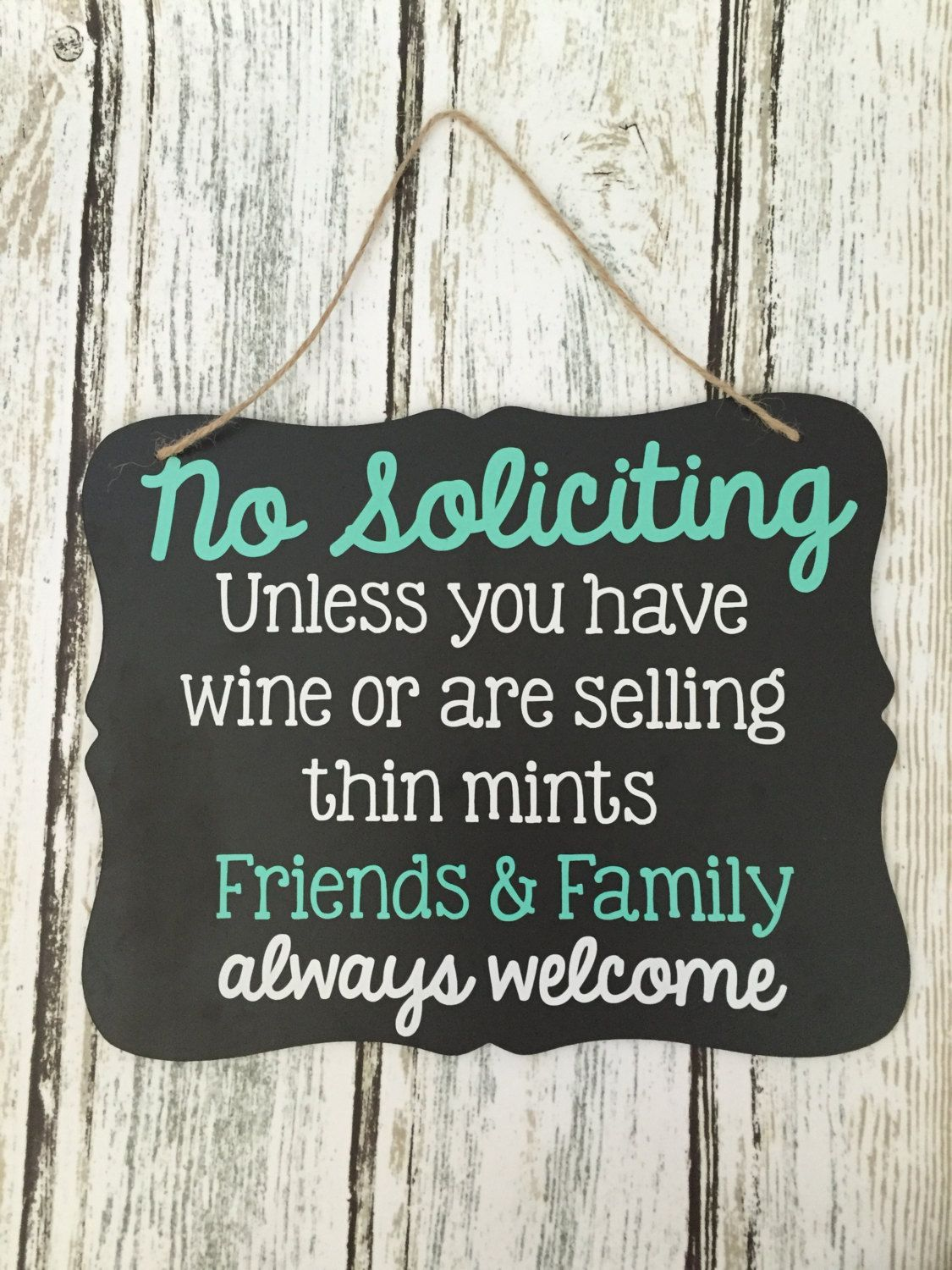 No Soliciting Sign - Thin Mints Soliciting Sign - Wine Soliciting Sign - Chalkboard Sign - Funny Solicitation Sign #nosolicitingsignfunny No Soliciting Sign - Thin Mints Soliciting Sign - Wine Soliciting Sign - Chalkboard Sign - Funny Solicitation Sign #nosolicitingsignfunny