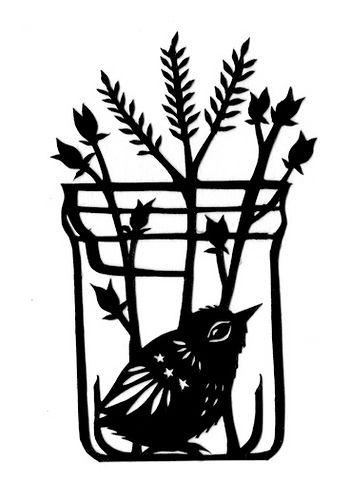 Bird in a Jar   Flickr - Photo Sharing!