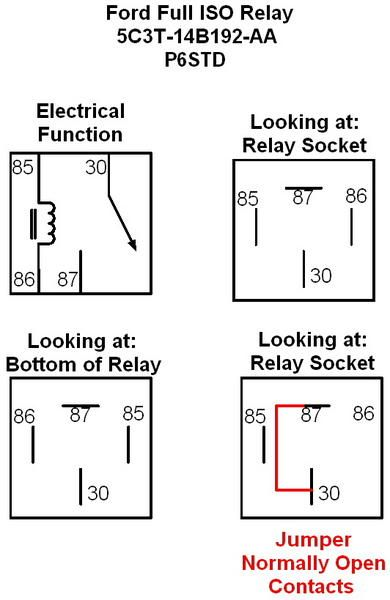 4 Pin Bosch Relay Switch Diagram Google Search Relay Diagram Electricity
