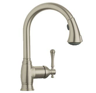 Grohe 33 870 | Dream KITCHEN | Brushed nickel kitchen faucet ...