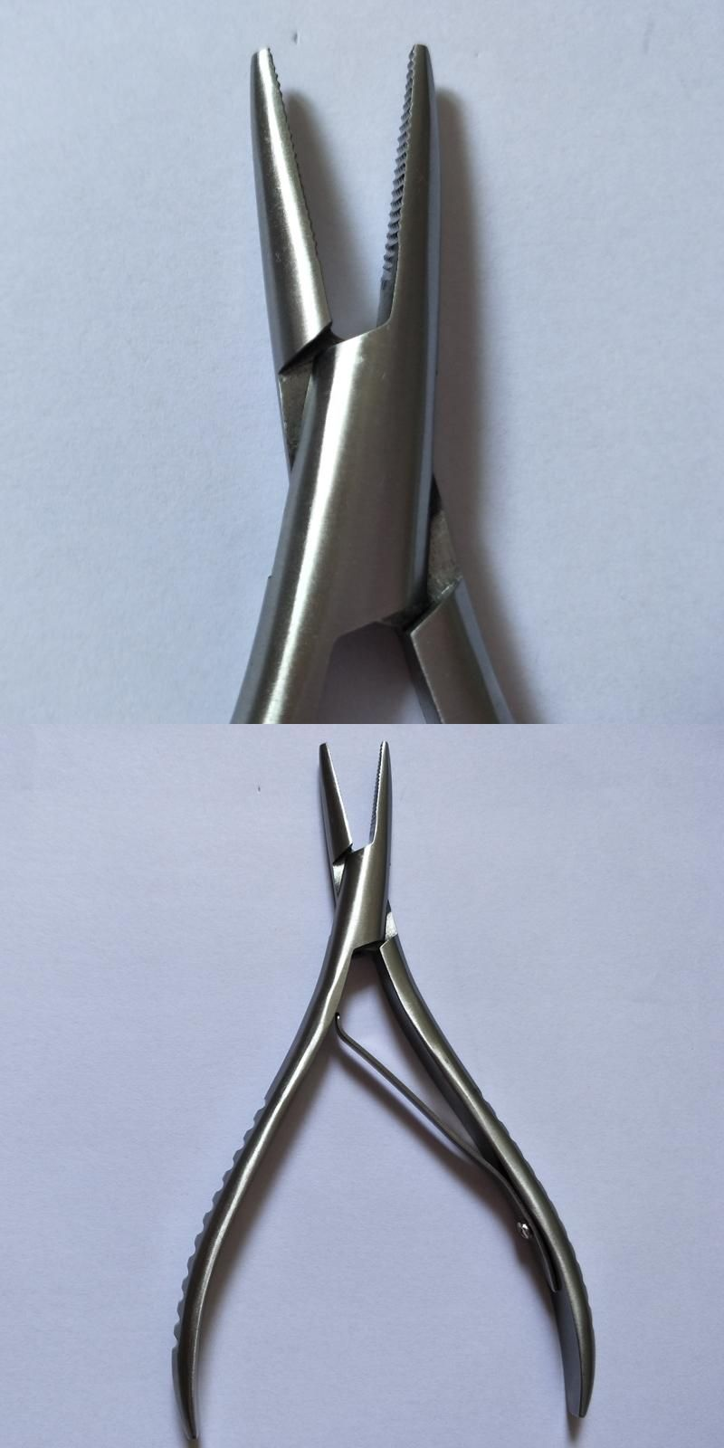 Stainless Steel Fusion Hair Pliers Saw Tooth Hair Extension Pliers