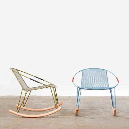 Shiny Happy Furniture from Melbourne | Sillas, Días de verano y Sillones