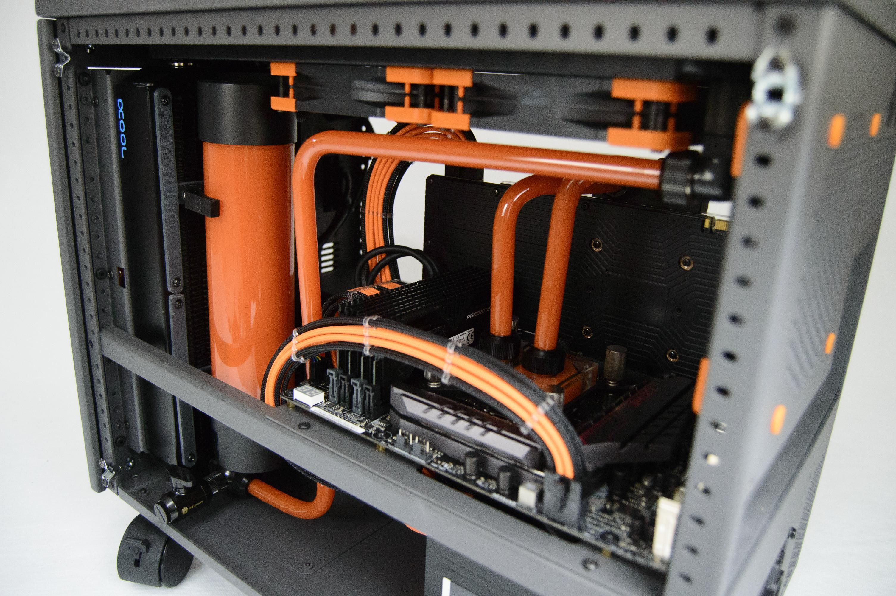 Caselabs S5 Final Pictures Small Computer Setup Custom Pc Computer Case