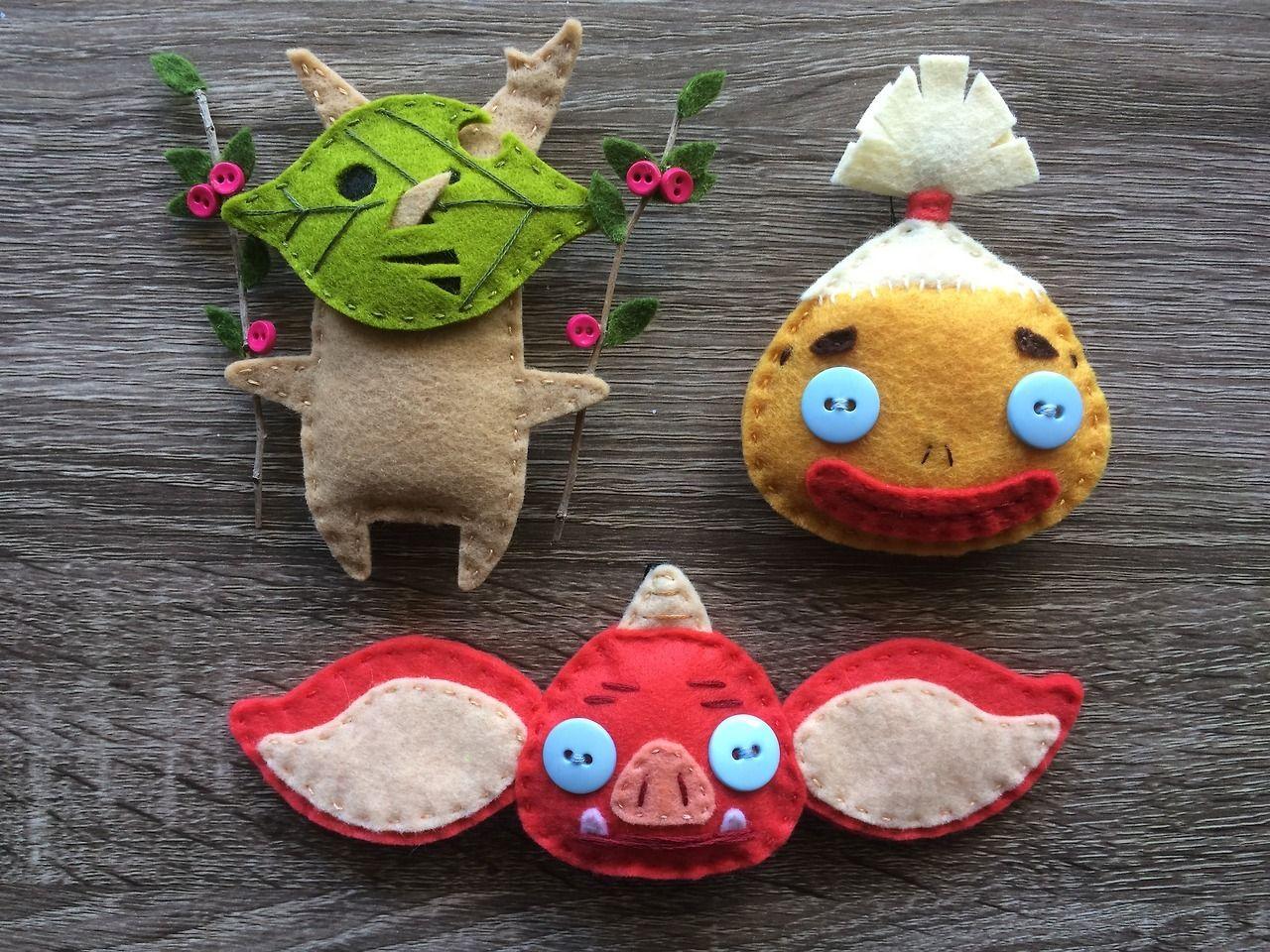 I made some zelda botw ornaments watch me sew them youtu