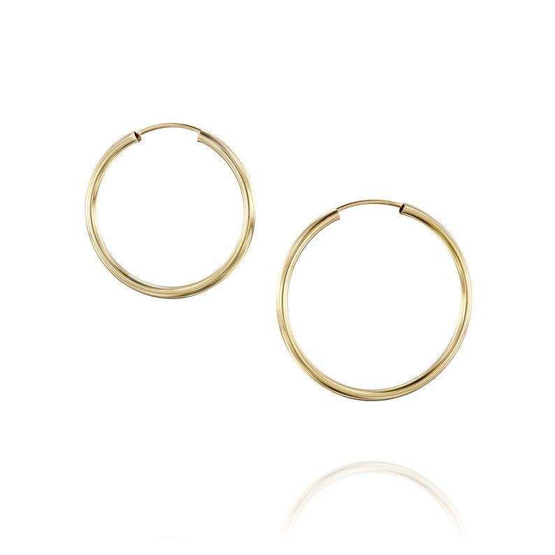 Gold Hoop Earring Women S Hoops Gold Hoops In 2021 Gold Hoops Earrings Large Gold Hoop Earrings Hoop Earrings