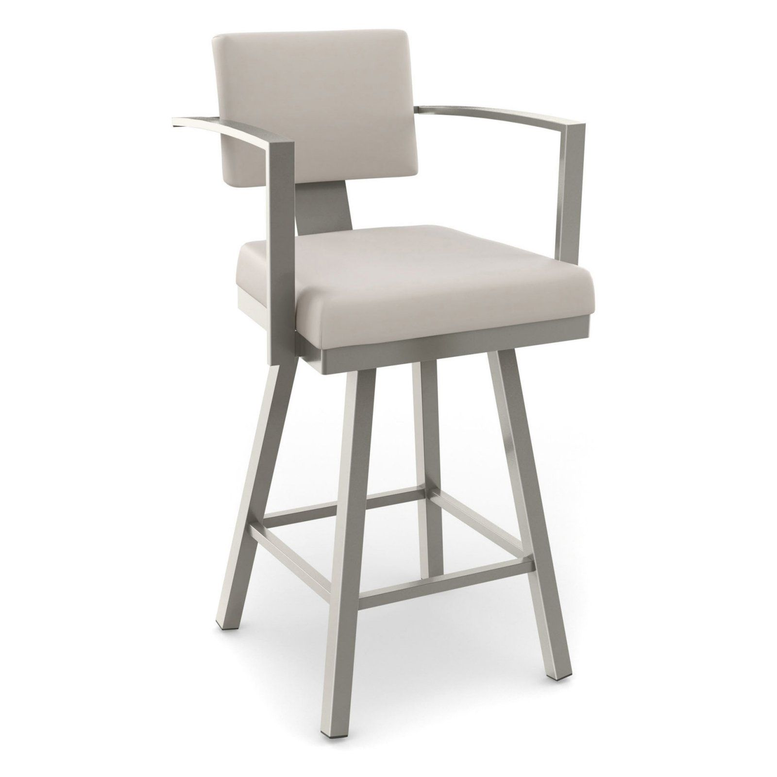 Amisco Akers Swivel Bar Stool With Arms 30 In Sillas Muebles Banquetas