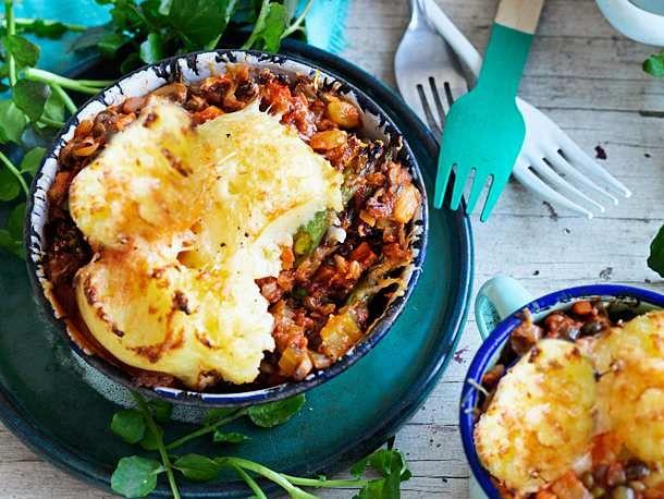 Linsen & Chill unter der Kartoffelhaube Rezept | LECKER