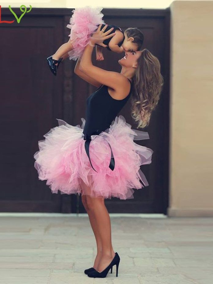 Photo of Skirts Womens Adult & Kid Tutu Rok Dames Fluffy Tulle Sexy Mini Pleated Skirt Waist Faldas Mujer Moda 2019 De Verano 18Jan18 | akolzol.com