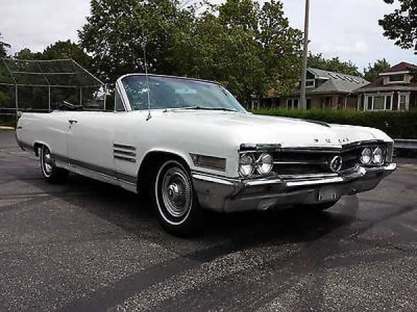 Buick: Wildcat Convertable 1964 buick wildcat 1 owner drives perfect needs nothing get in drive