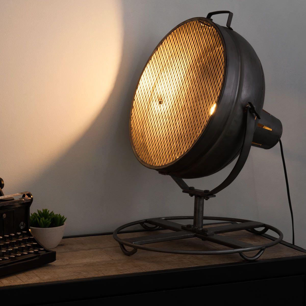 Lampe Orientable En Metal H 60 Cm Phare Maisons Du Monde Lampe Phare Lampe Maison Du Monde