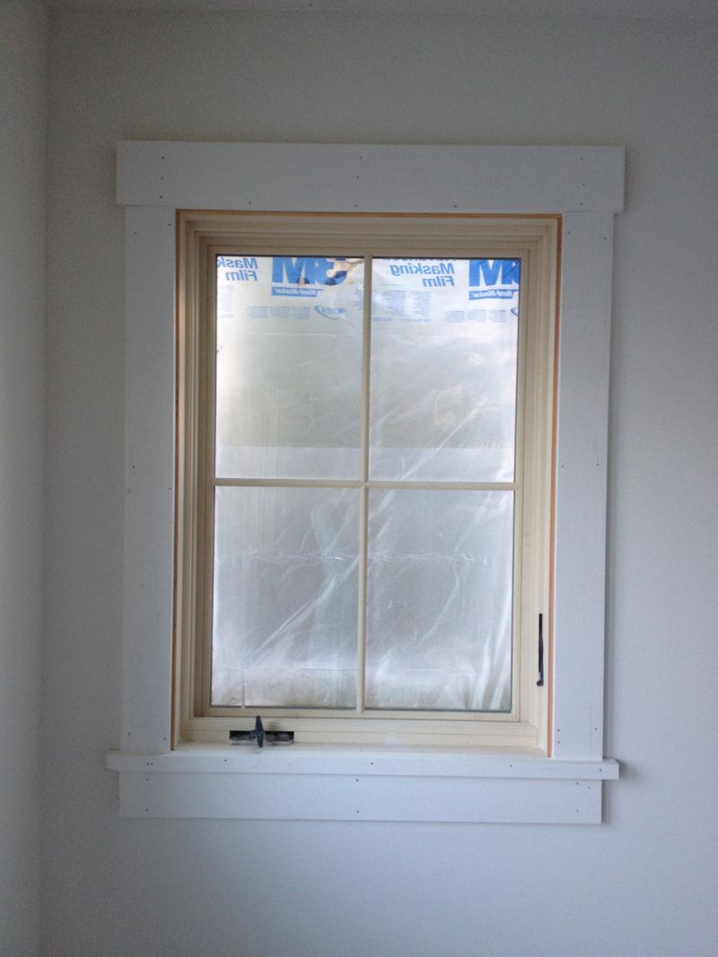 simple classic window trim Louise remodel Pinterest Urban