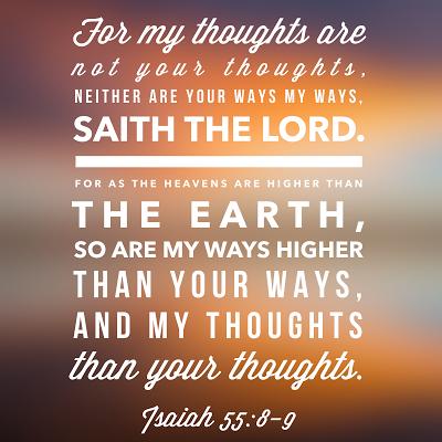 Isaiah 55:8-9 (KJV) | Healing scriptures kjv, Isaiah 55, Kjv