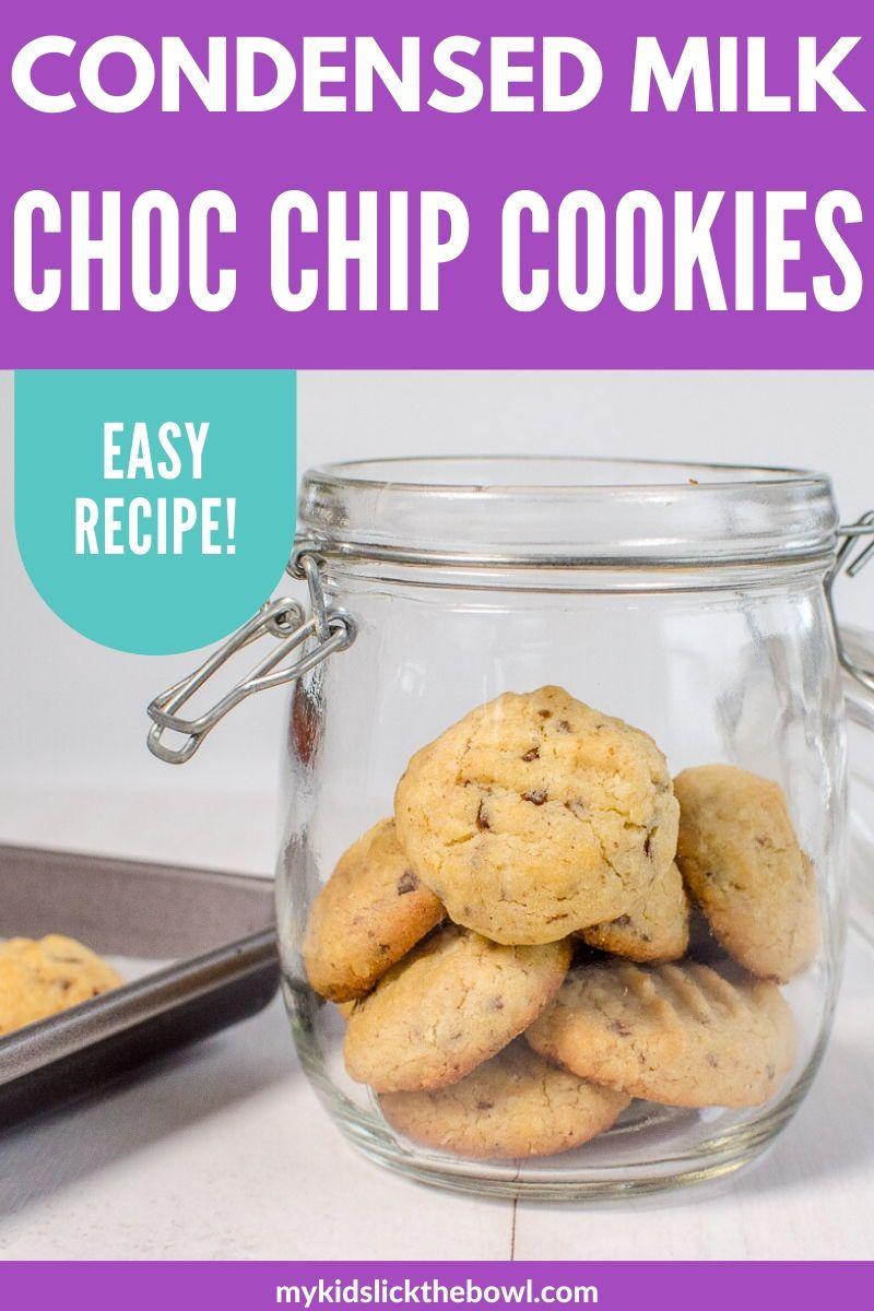 Condensed Milk Chocolate Chip Cookies In 2020 Chocolate Chip Cookies Chip Cookies Healthy Desserts For Kids