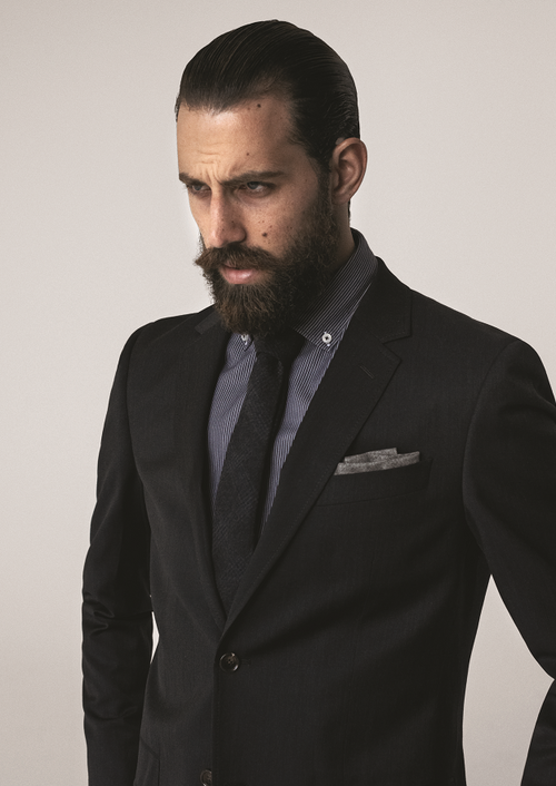 Fine 1000 Images About Suits Amp Beards On Pinterest Short Hairstyles Gunalazisus