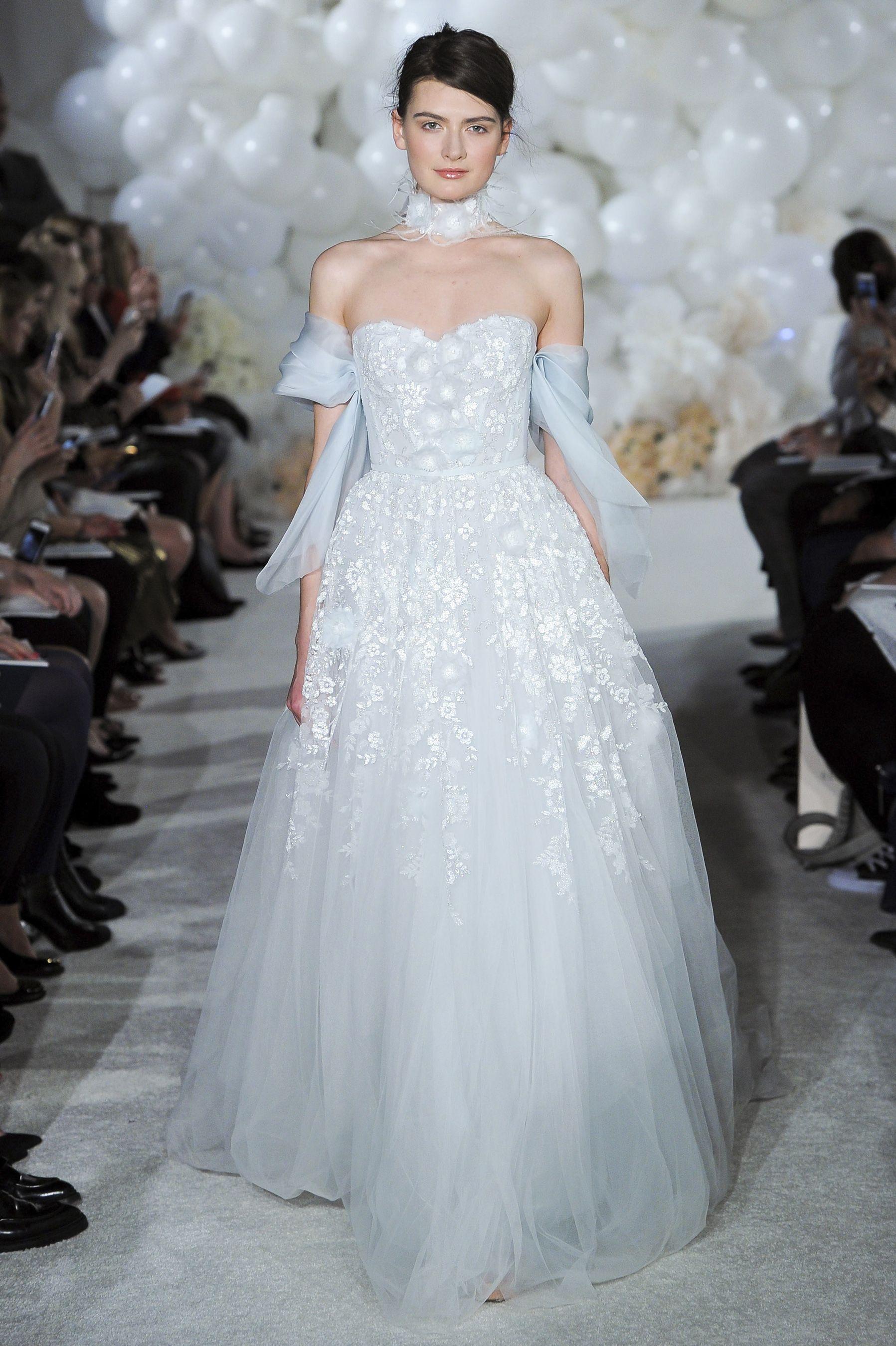 Mira Zwillinger Spring 2018 Bridal Fashion Show, NYFW, New York ...