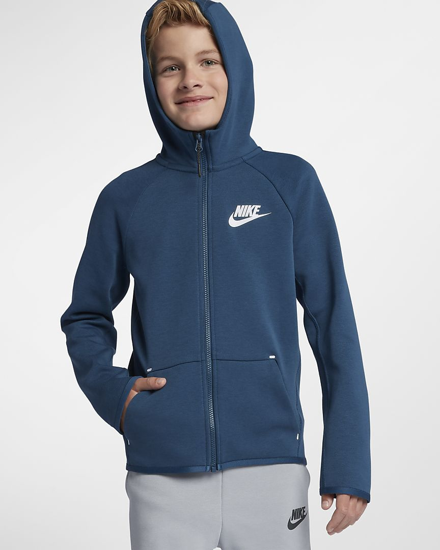f6279fea26a Sportswear Tech Fleece Big Kids' Full-Zip Jacket | Kids boys | Nike ...