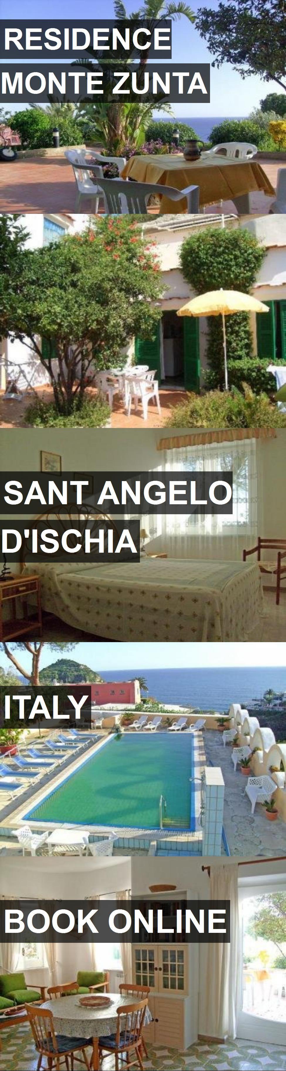 Hotel RESIDENCE MONTE ZUNTA in Sant Angelo D'Ischia, Italy