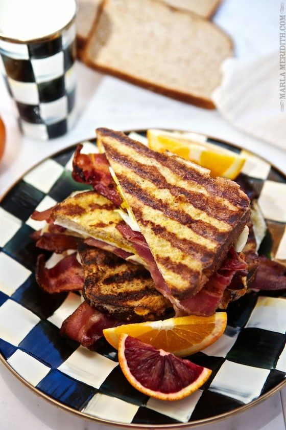recipe: french toast with bacon and cheese [23]