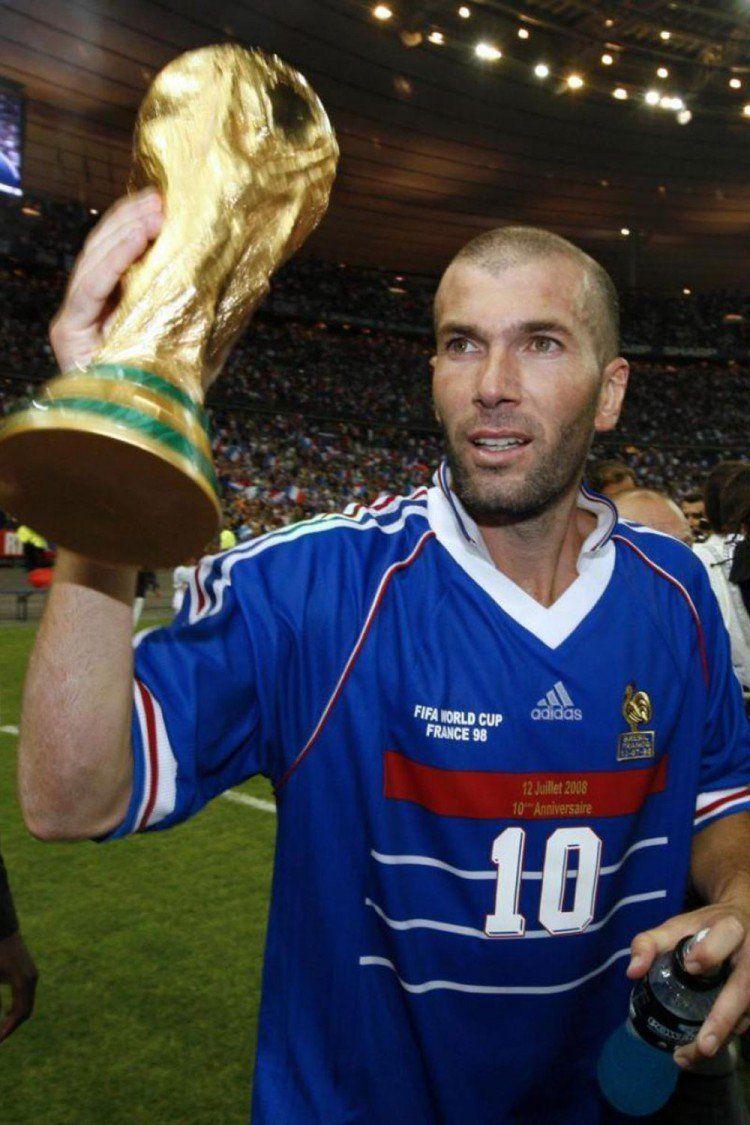 Zidane futbol soccer 4 fun pinterest coupe du monde - Zidane coupe du monde 1998 ...