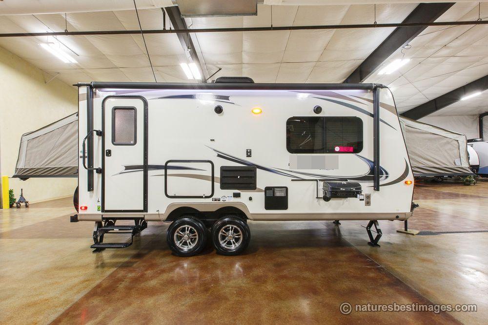 2018 Shamrock Model 21dk Hybrid Travel Trailer Hybrid Travel