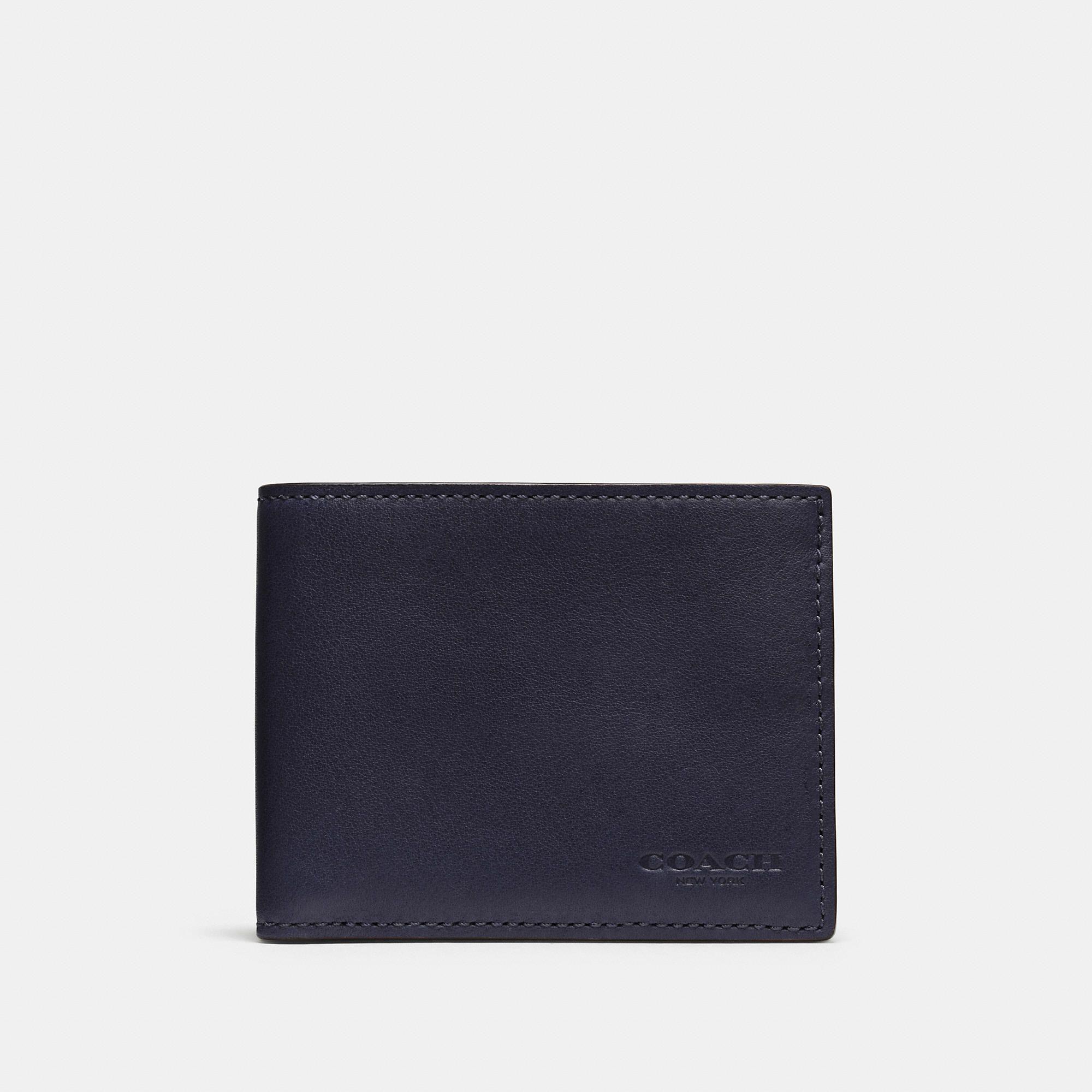 02e285c0f5 Coach Slim Billfold Id Wallet | Products | Id wallet, Wallet, Slim