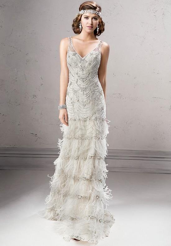 Sottero And Midgley Wedding Dresses Gatsby Inspired Dress 1920s Wedding Dress Sottero And Midgley Wedding Dresses