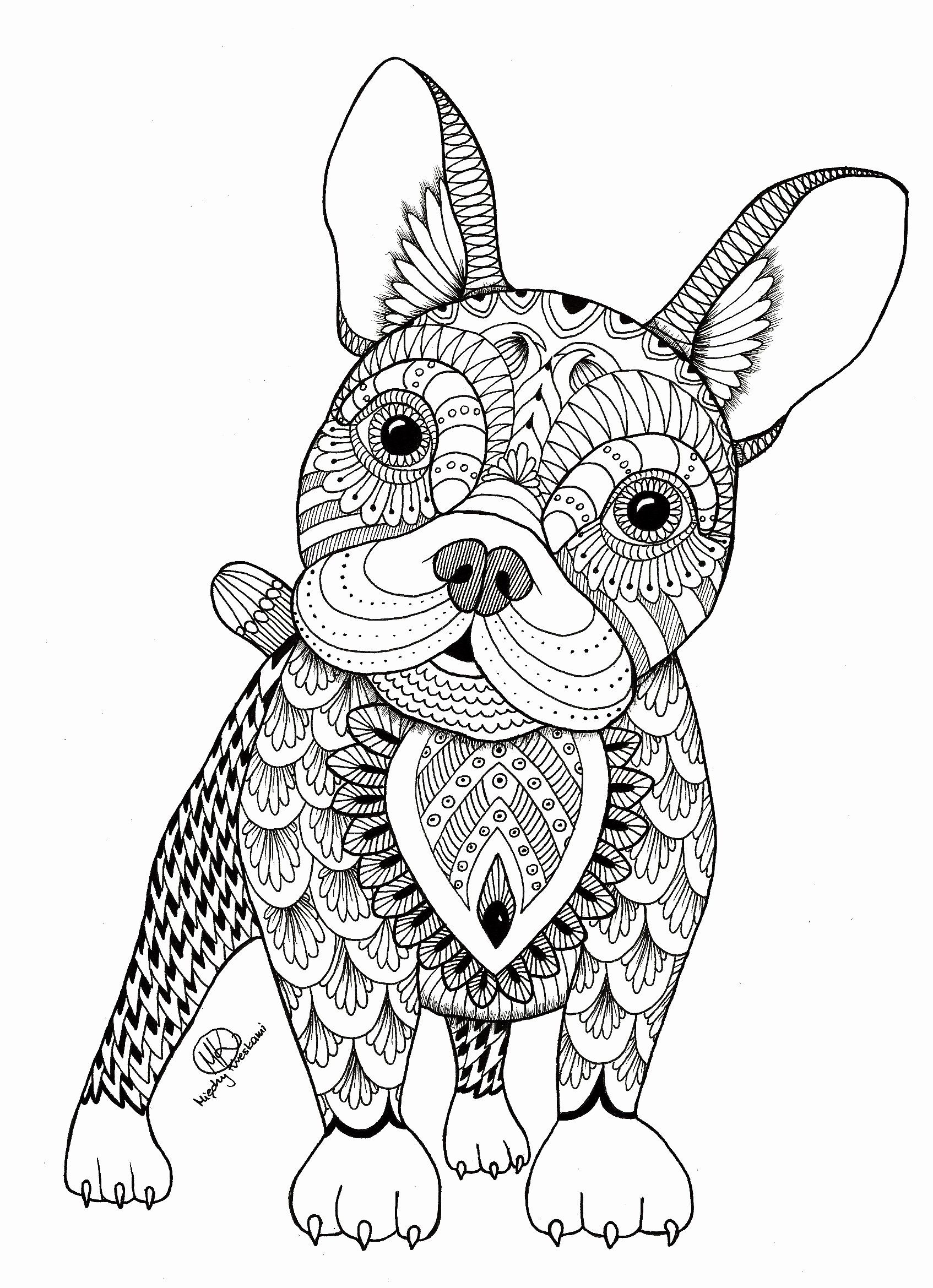 Intricate Animal Coloring Pages In 2020 Mandala Coloring Pages