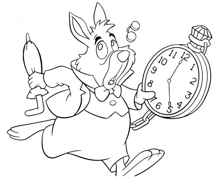 Alice In Wonderland Coloring Pages For Adults 3 Dju8 700x601