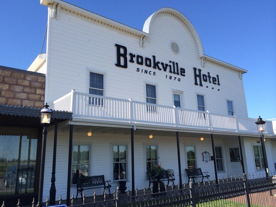 Brookville Hotel In Abilene Ks Traces Its Roots Back To The 1870s