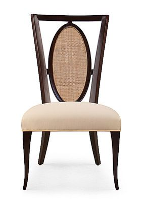 Christopher Guy Furniture - chair An elegant and clean, but yet interesting design which can fit a variety of design concepts