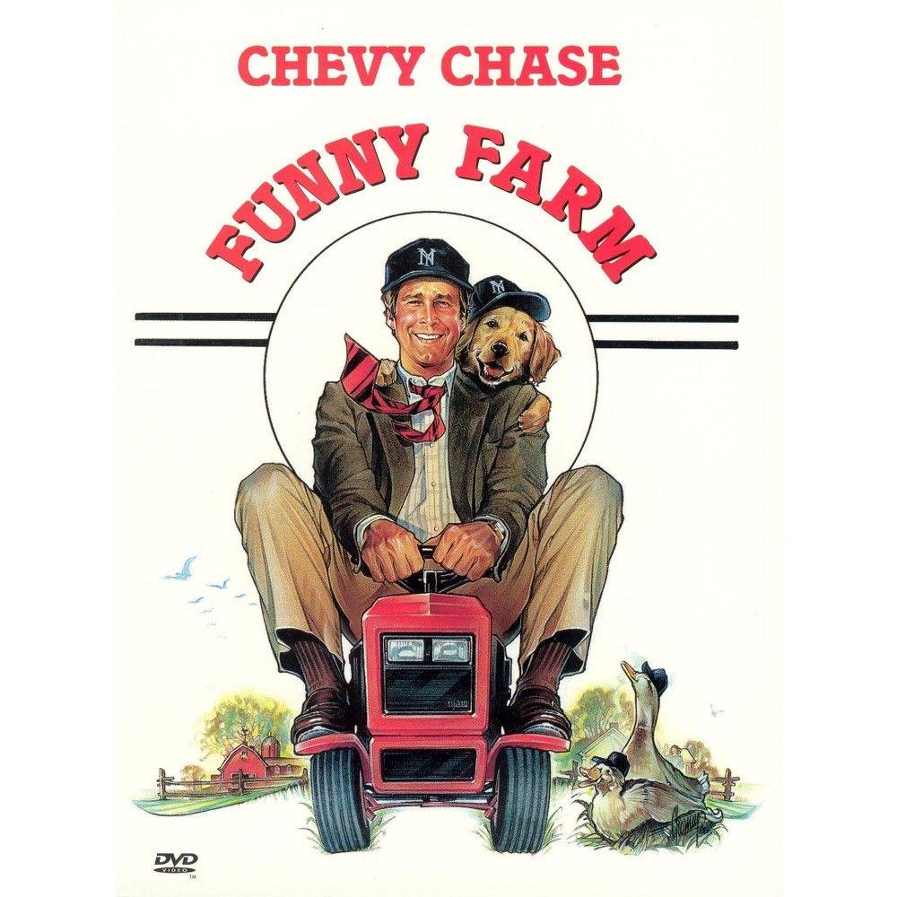 Funny Farm (DVD)(1999) Funny farm movie, Favorite movies