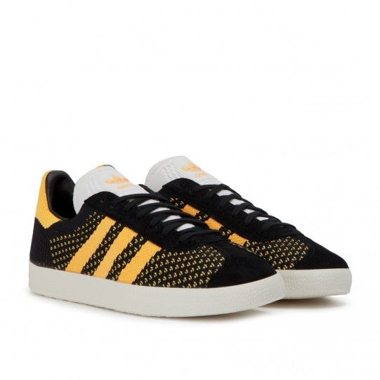 ec93384bd50590 adidas GAZELLE PK (Black   Gold   White)