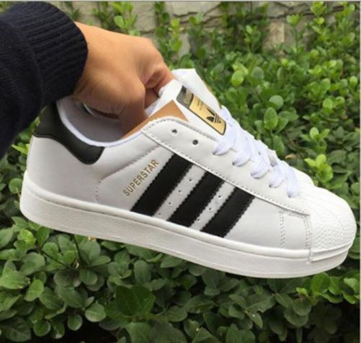 check out ddf73 ffd33 Kids Women s Fashion Leather Casual Lace Up Sneakers Trainer Shoes-Superstar