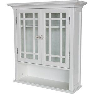 For the Bathroom (Above Toilet): Heritage Wall Cabinet with