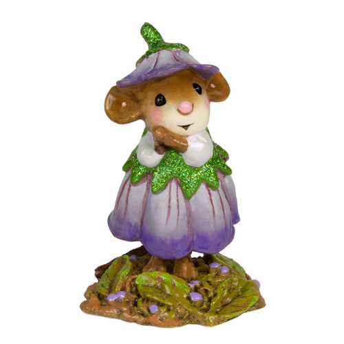 M640 Wee Flower Mouse of the Month April flowers, June