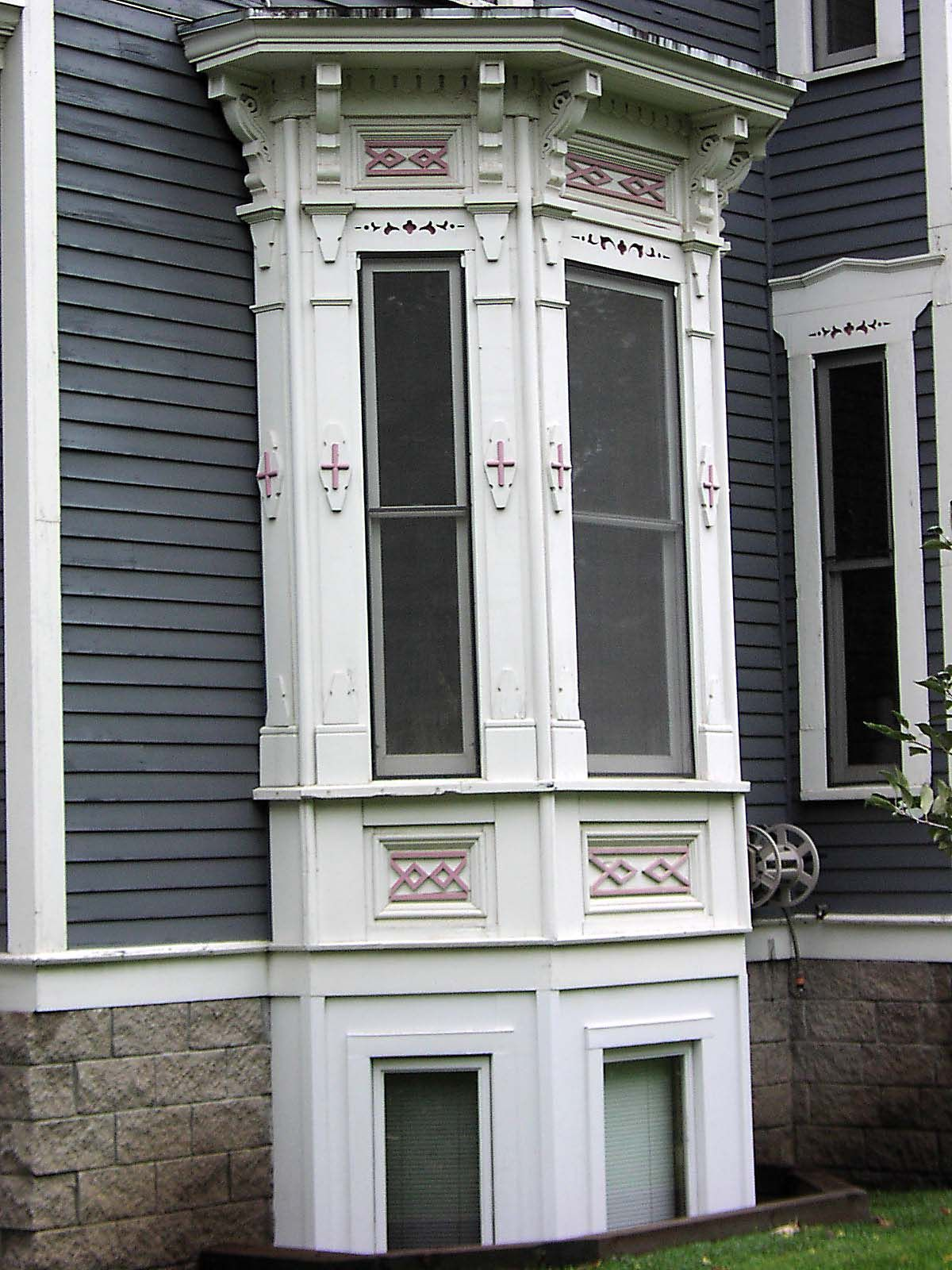 victorian bay windows victorian bay window detail